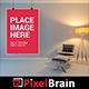 Modern Interior Realistic Frame Mockup Design - GraphicRiver Item for Sale
