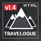 Travelogue - Travel Blog HTML Template - ThemeForest Item for Sale