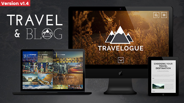 Travelogue - Travel Blog HTML Template