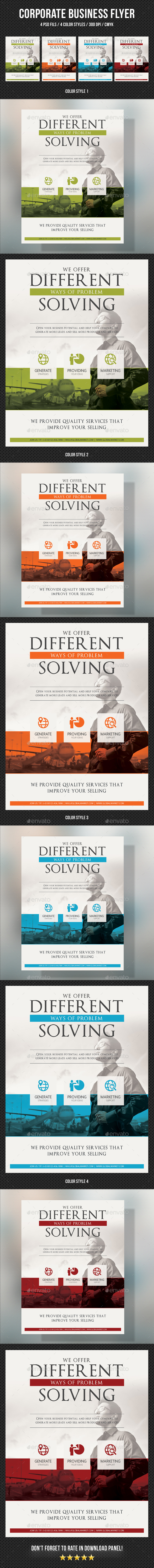 Corporate Business Flyer 11 - Corporate Flyers