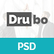 Drubo - Corporate PSD Template - ThemeForest Item for Sale