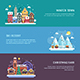 Winter Travel Banners - GraphicRiver Item for Sale