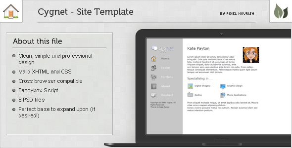 Free Download Cygnet Theme Nulled Latest Version