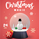 Snow Globe Christmas Event - GraphicRiver Item for Sale