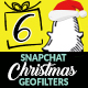 Christmas Snapchat Geofilters - GraphicRiver Item for Sale