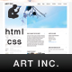 ART INC. - ThemeForest Item for Sale