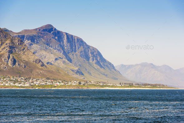 Seaside Town South Africa - Stock Photo - Images