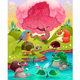 Group of Animals in the Countryside - GraphicRiver Item for Sale