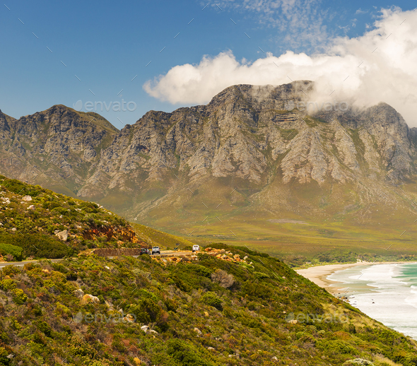 Victoria Road in South Africa - Stock Photo - Images