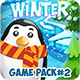 Christmas Winter Frozen Full Game Pack 2 with Game Map and GUI - GraphicRiver Item for Sale