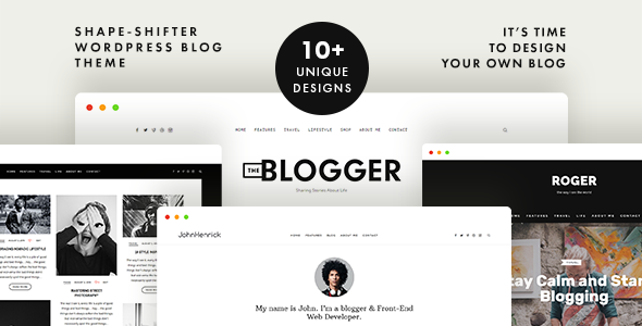TheBlogger - A WordPress Blogging Theme for Bloggers - Personal Blog / Magazine