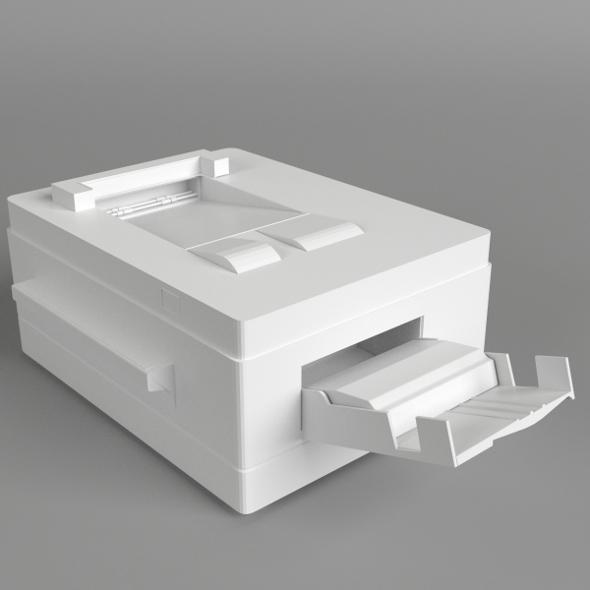 Printer 3 - 3DOcean Item for Sale