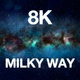 8K Amazing Flying To Milky Way - VideoHive Item for Sale