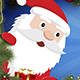 Christmas Greetings from Animated Santa and Reindeer - VideoHive Item for Sale