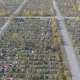 A Large Cemetery in Russia. - VideoHive Item for Sale