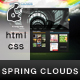 Spring Clouds  - ThemeForest Item for Sale