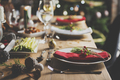 Christmas Family Dinner Table Concept - PhotoDune Item for Sale