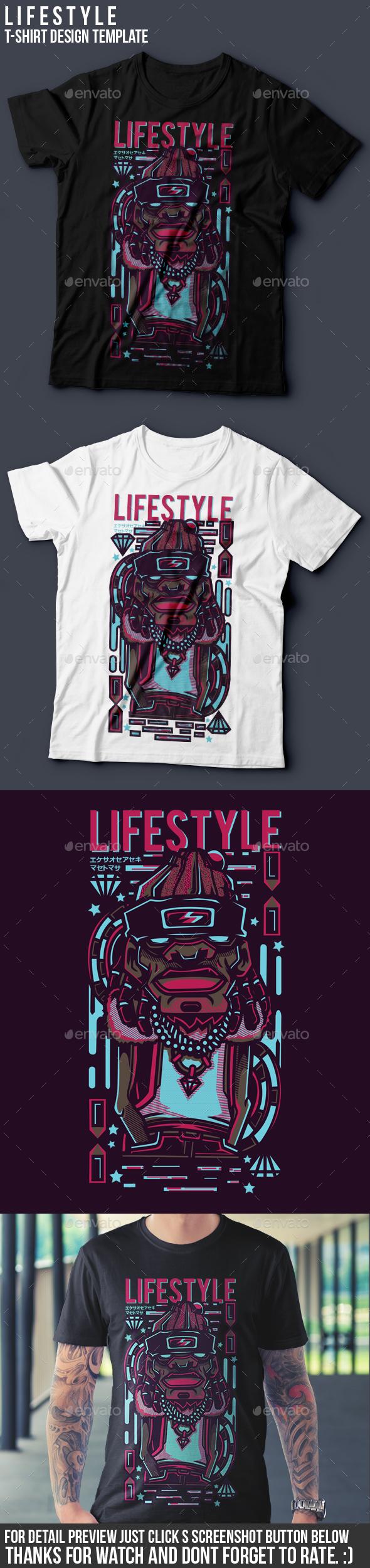 LIfestyle T-Shirt Design - Events T-Shirts
