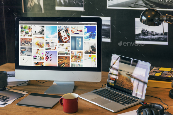 Photography Ideas Creative Occupation Design Studio Concept - Stock Photo - Images