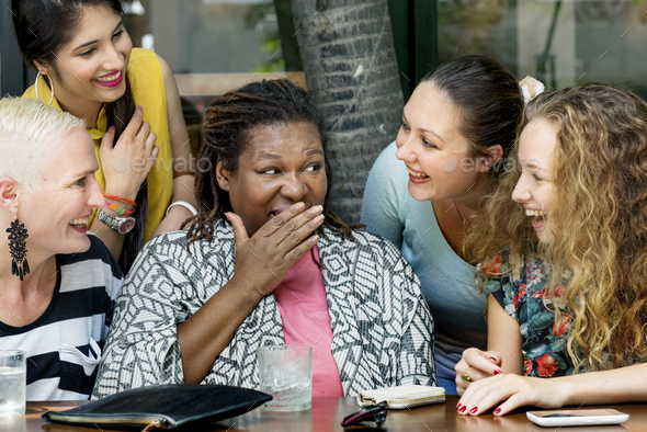 Group Of Woman Talking Communication Concept - Stock Photo - Images