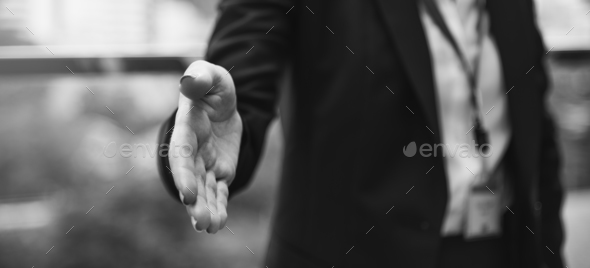 Handshake Businesswoman Colleagues Deal Concept - Stock Photo - Images