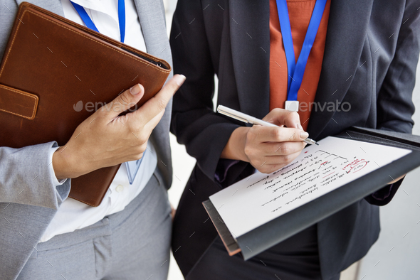 Businesswoman Corporate Colleagues Talking Concept - Stock Photo - Images