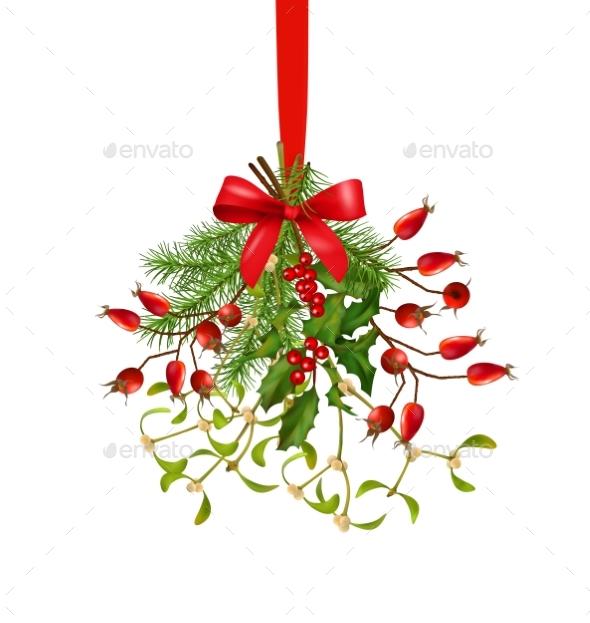 Hanging Bunch of Christmas Decoration - Christmas Seasons/Holidays