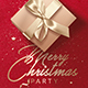 Red Christmas Party | Invitation Flyer Template - GraphicRiver Item for Sale