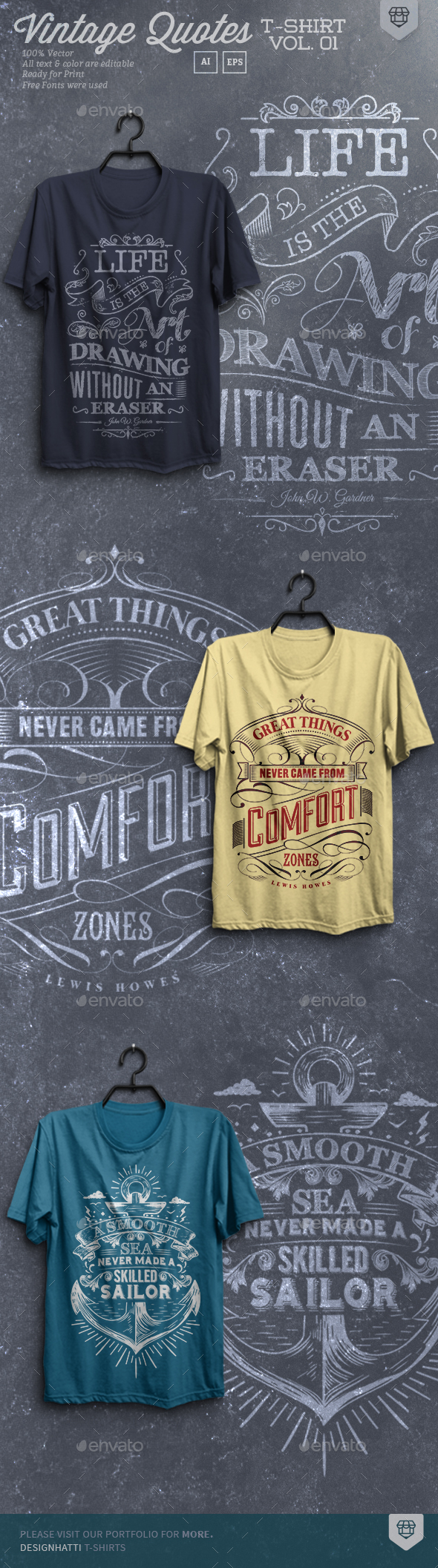 Vintage Quote T-Shirts - T-Shirts