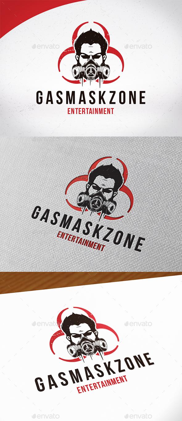 Gas Mask Logo Template - Humans Logo Templates