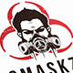 Gas Mask Logo Template - GraphicRiver Item for Sale