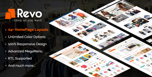 Revo – Premium Responsive Prestashop Mega Store Theme