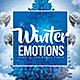 Winter Emotions Flyer - GraphicRiver Item for Sale