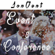 Jonvent - One Page and Multipage Event and Conference HTML Template