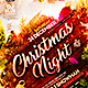 Christmas Night Flyer - GraphicRiver Item for Sale