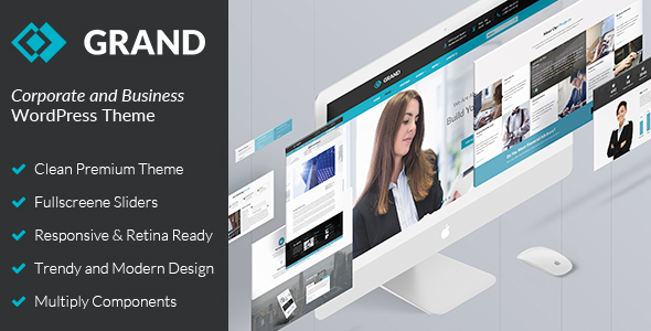 Business & Corporate WordPress Theme – Grand