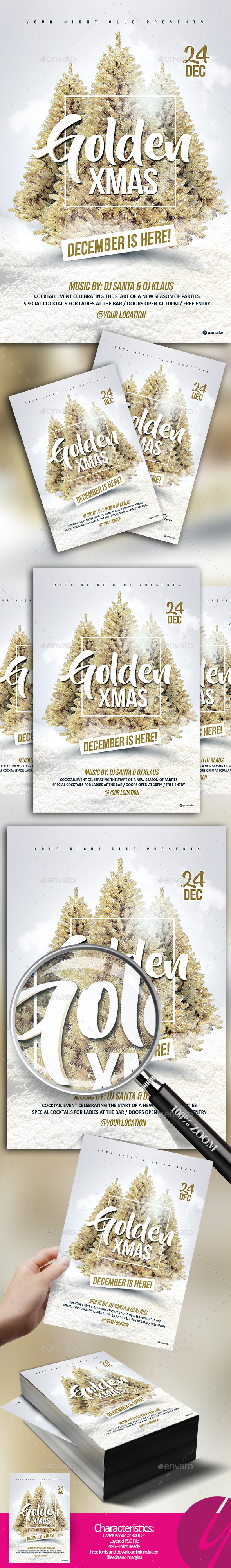 Golden Christmas Edition - Clubs & Parties Events