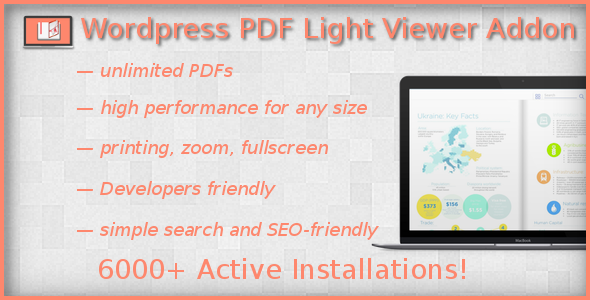 PDF Light Viewer PRO Addon - CodeCanyon Item for Sale