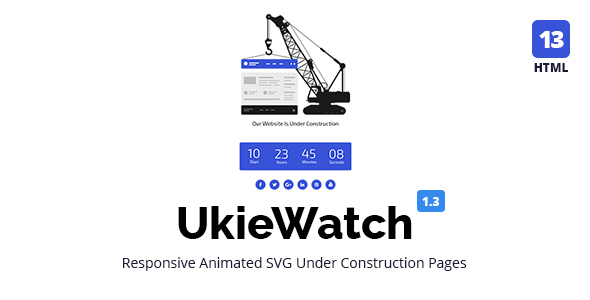 UkieWatch - Responsive Animated Templates