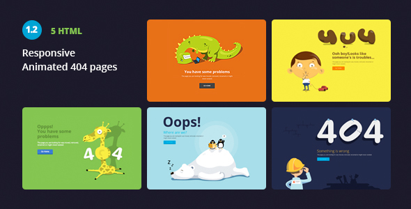 Creative 404 Pages - 404 Pages Specialty Pages