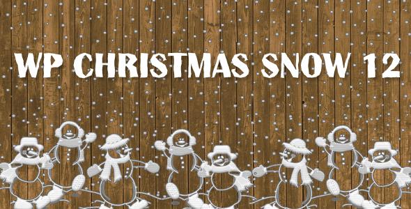 WP Christmas Snow 12 - CodeCanyon Item for Sale