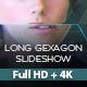Long Gexagon Slideshow - VideoHive Item for Sale