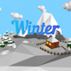 "Low poly ""Winter island"" - 3DOcean Item for Sale"