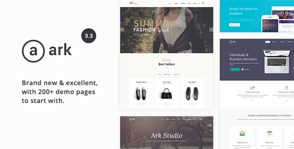 Ark - Responsive Multi-Purpose HTML5 Template