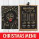 Christmas Menu Restaurant - GraphicRiver Item for Sale