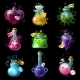Magic Potions Icon Set - GraphicRiver Item for Sale