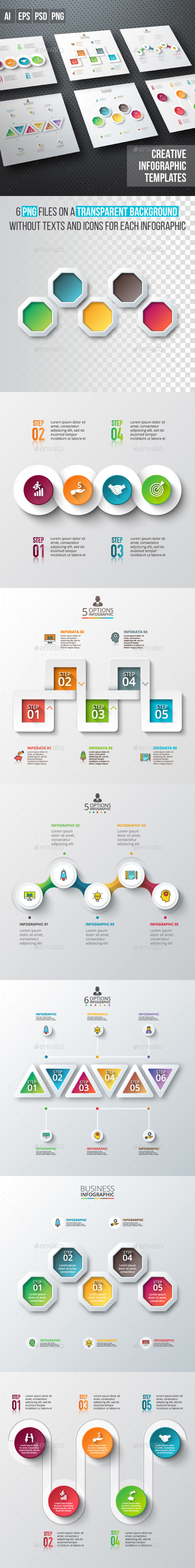Business infographic diagrams v.04 - Infographics
