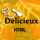 Mega Delicieux - Restaurant and Food HTML5 Template Nulled