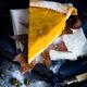 A Slice of Thanksgiving Pumpkin Pie in Autumn Scene - PhotoDune Item for Sale