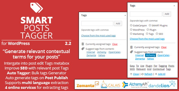 Smart Posts Tagger - CodeCanyon Item for Sale